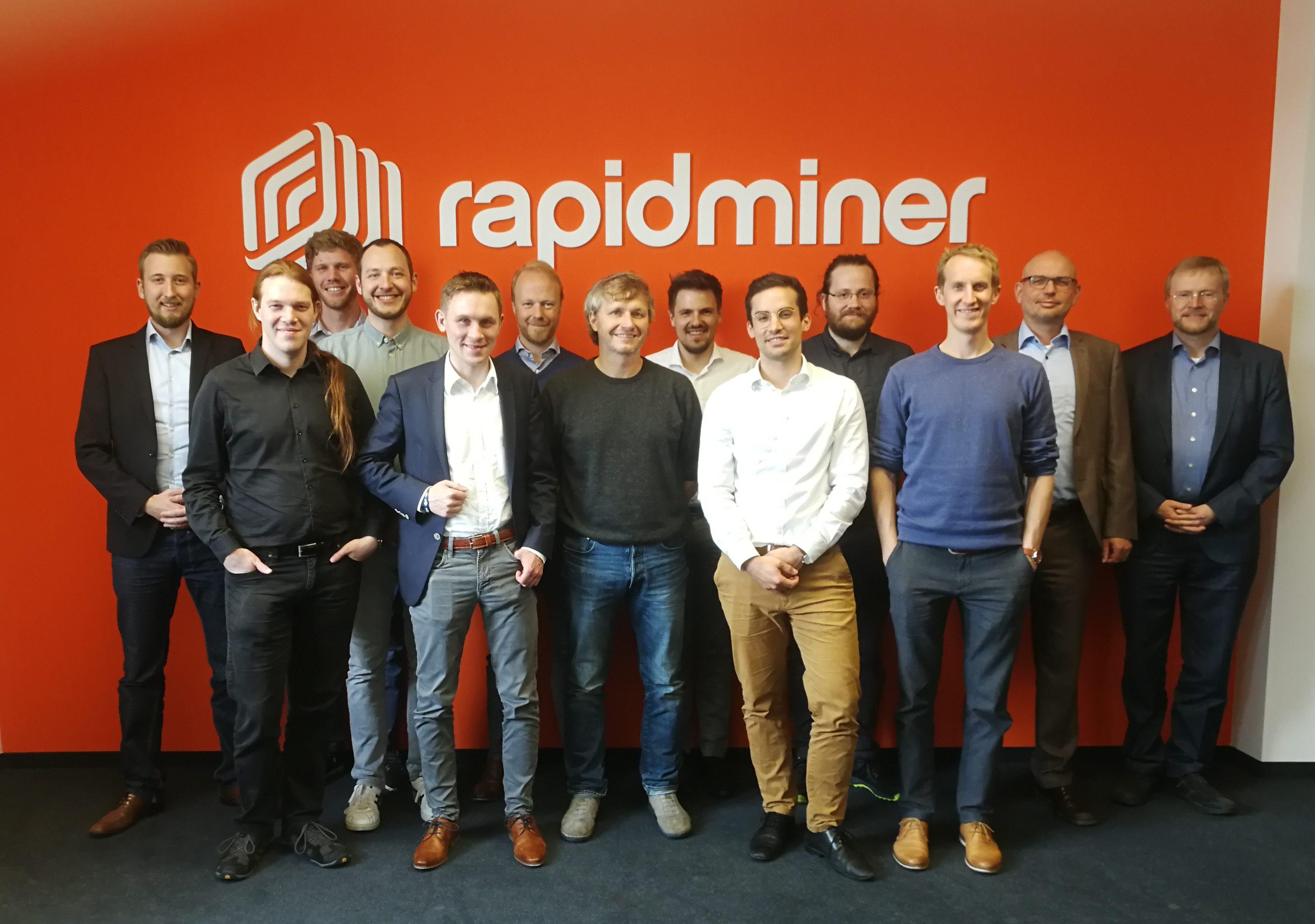 Erstes Konsortialtreffen bei RapidMiner in Dortmund