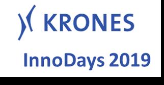 Präsentation des Förderprojekts DaPro auf den KRONES InnoDays 2019