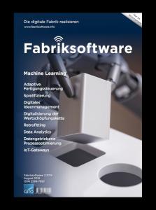 Veröffentlichung in der Fachzeitschrift Fabriksoftware